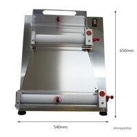 10 40cm Commercial dough pressing machine Automatic Electric bakery pizza dough roller dough press machine Electric pasta tool