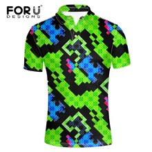 FORUDESIGNS High Quality Brand Men Polo Shirt New Summer Super Fashion Mens Breathable Novelty Ralp Camisam