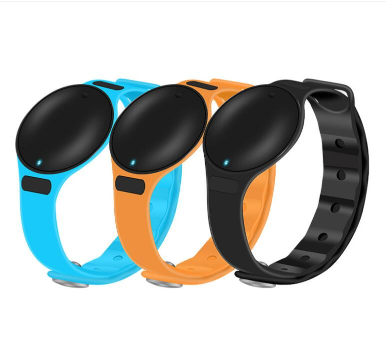2PCS LOT WAOUKS font b Smart b font hand ring bluetooth waterproof message reminder work for