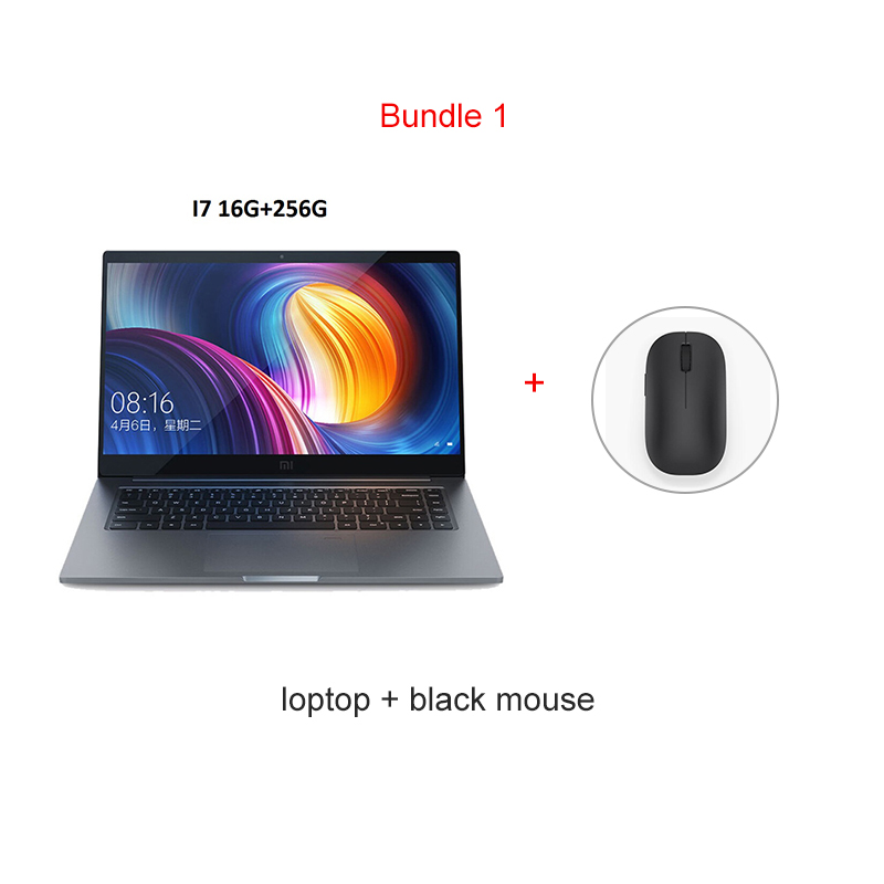 Xiaomi Notebook  Pro 15.6 Intel Core I7 16G Ram 256GB Ssd  Windows 10 2GDedicated Card 1920x1080 Fingerprint Recognition