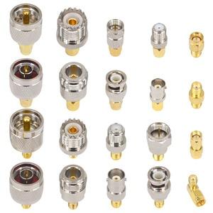 SMA к SMA BNC N F UHF Тип комплекты разъемов RF адаптер 20 Тип