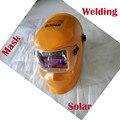 Preço mais barato Solar escurecimento Automático Soldagem Capacetes elétrica capa máscara de soldagem tig, mig, soldagem a arco rosto escudos distribuidor