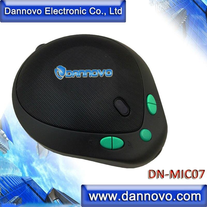 DANNOVO MiNi USB Omni-directional Speakerphone, 360 degree Pickup, Plug and Play,for Windows,MAC,Skype,Lync