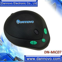 Dannovo MiNi USB omnidireccional altavoz, 360 degree pickup, Plug and play, para windows, mac, skype, Lync