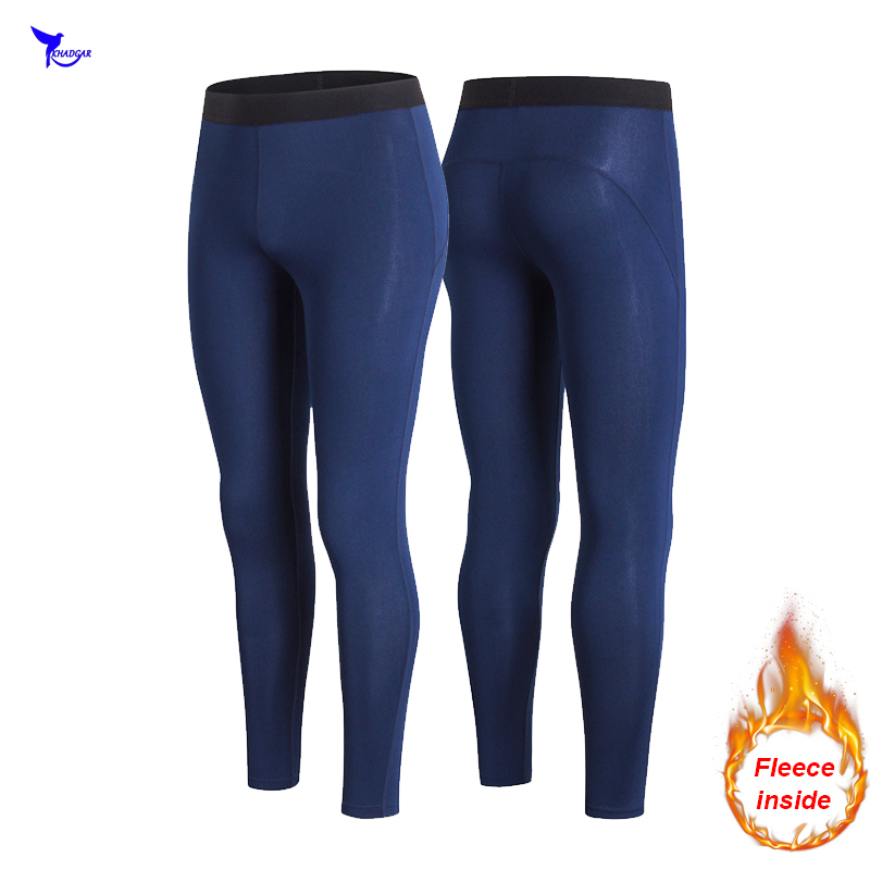 Women Winter Leggings Elastic Fitness Sweatpants Thermal Fleece Exercise Stretch Compression Pants Quick Dry Workout Trousers