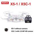 Syma X5C-1 (atualização de versão Syma x5c ) Quadcopter Zangão Com Câmera ou Syma X5-1 (Upgrade syma x5 ) helicóptero do rc dron sem câmera