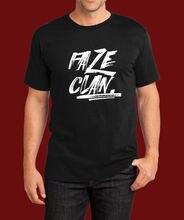 b3cbc98bafcc 2018 Faze T Shirt Logo Gaming Game Clan Csgo Men Black Custom Print O-Neck