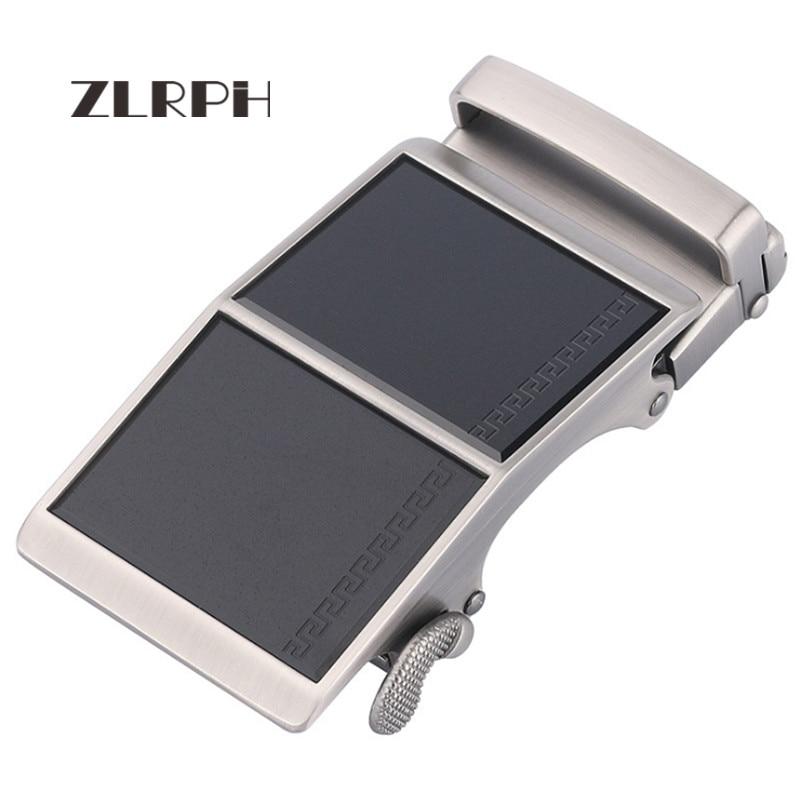 ZLRPH Famous Brand Belt Buckle Men Top Quality Luxury Belts Buckle For Men 3.5 Cm Strap Male Metal Automatic Buckle 3 Color