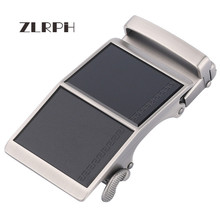 купить ZLRPH Famous Brand Belt Buckle Men Top Quality Luxury Belts Buckle for Men 3.5 cm Strap Male Metal Automatic Buckle 3 color по цене 1041.63 рублей