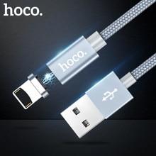 HOCO Magnetic Charging 3 in 1 USB Kabel für Apple Stecker iPhone iPad Micro-USB Typ-C für samsung Xiaomi oneplus 6 Ladegerät Daten