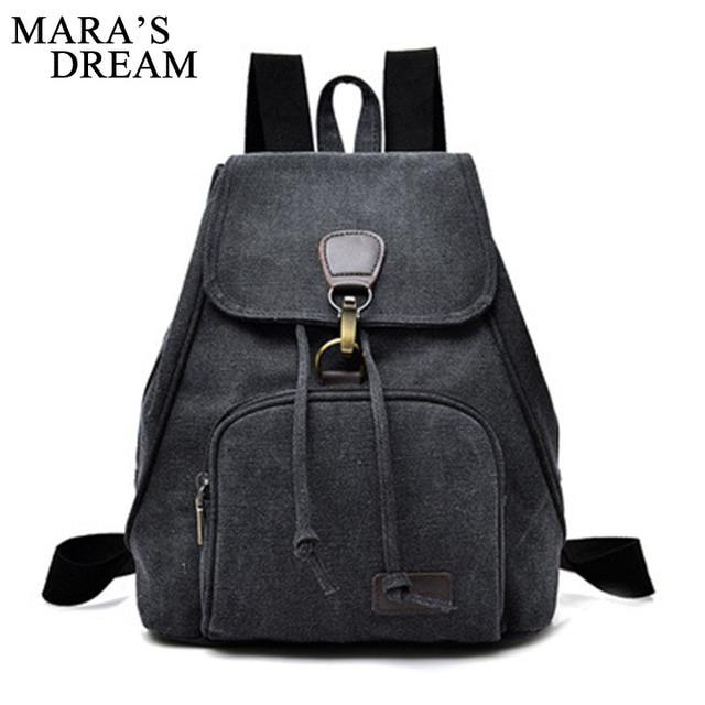 Aliexpress.com : Buy Mara's Dream Canvas Women Backpack College ...