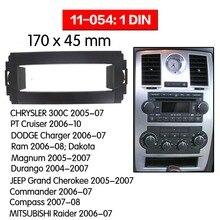 Car Radio Fascia Multimedia Frame Kit For Chrysler 300c 2005 2007 Facia Panel Trim Dash