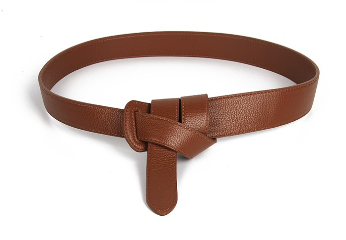 HTB1t5DPKkOWBuNjSsppq6xPgpXa5 - Luxury Female Belt for Women red Bow design Thin PU Leather Jeans Girdles Loop strap belts bownot brown dress coat accessories