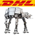 2017 Nueva LEPIN 05050 1137 Unids Motorizado A Pie de Star Wars AT-AT Modelo Kit de Construcción de Juguetes de Bloques de Ladrillos Compatibles 10178