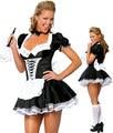Para mujer libres del envío Halloween Costume criada francesa traje camarero Cosplay del vestido de lujo sml XL 2XL 3XL