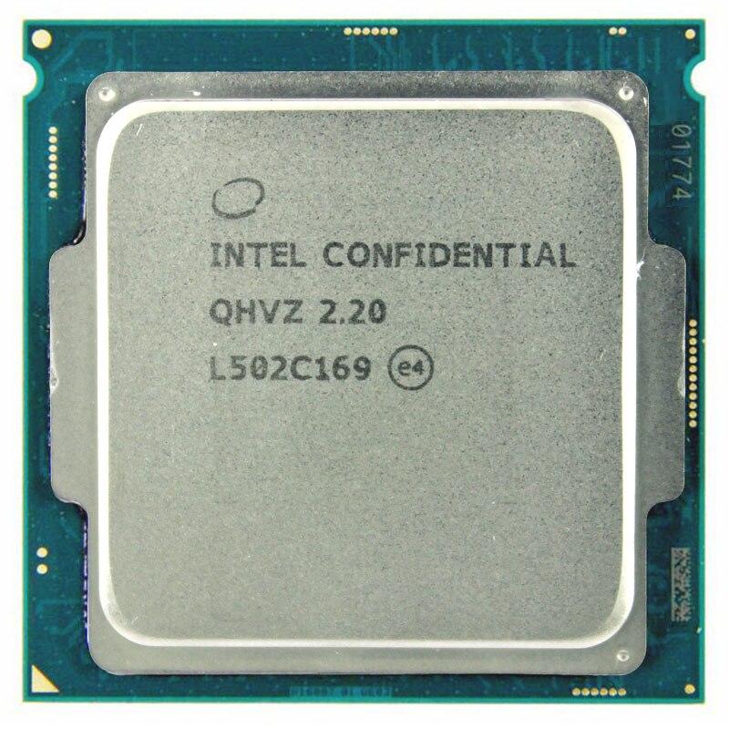 QHVZ 2.2 INTEL I5 version d'ingénierie ES de INTEL CORE I5 CPU 2.2 GHz Q0 étape skylake comme QHQG quad core socket 1151