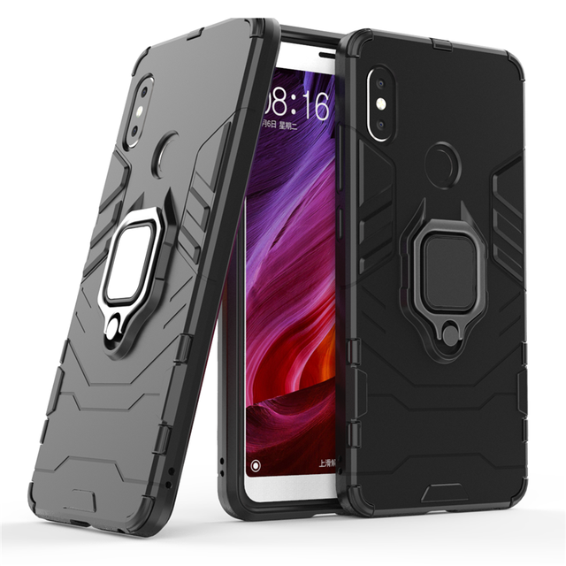 buy online abcc8 59f8f US $3.35 20% OFF|For Xiaomi Redmi Note 5 Pro Case Iron Man Ring Capas  Hybrid Armor PC Soft Silicone Cover For Redmi Note 5 Global Version  (L0725)-in ...