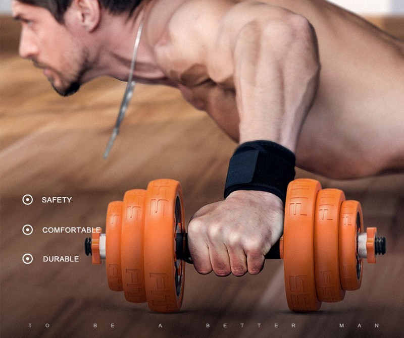 Dumbbell combination set men s fitness home plating adjustable barbell training arm muscle chest muscle slimming