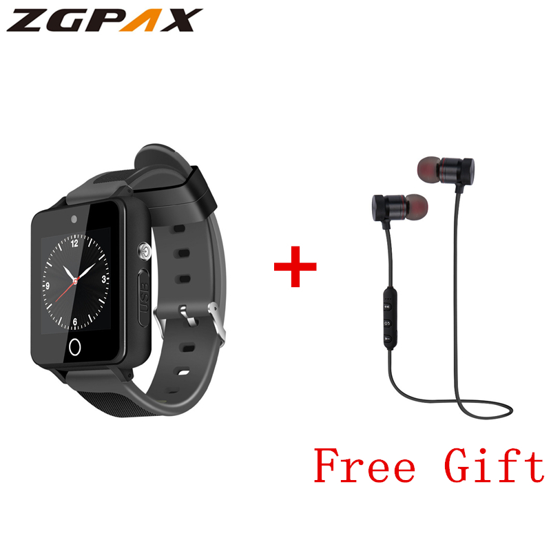 ZGPAX S9 Smart Watch 1 54 Inch 3G Android 5 1 MTK6580 Quad Core 4GB ROM