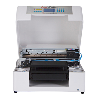 Airwren digital cheap direct to garment A3 size inkjet dtg flatbed printer