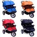 Twin Baby Jogger Коляска Трехколесный Велосипед Колесо Дети Jogger Для Близнецов 2 детское Кресло