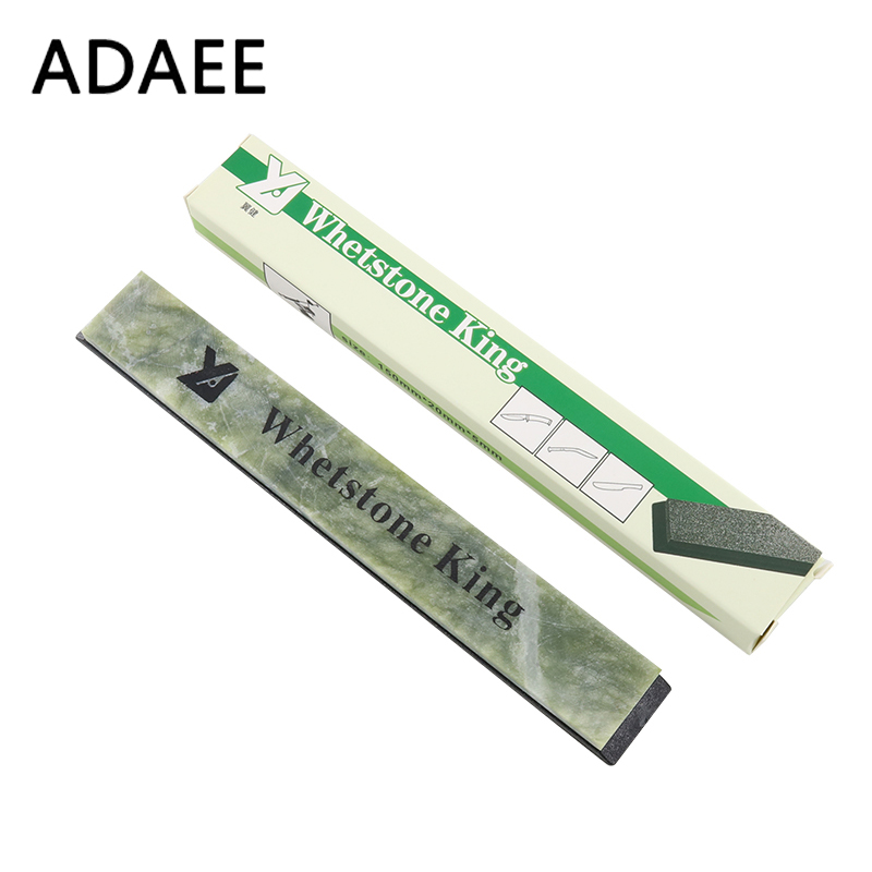 ADAEE Whetstone Professional Kniv Sharpener 8000 # Grit Slipende Stone Natural Emerald Sharpener Kniv Verktøy YJ-FA-GEM_8000