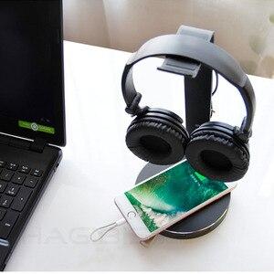 Image 5 - Hagibis suporte de fone de ouvido com 4 portas usb 3.0 hub, exibição de porta de áudio para suporte e cabo de fone de ouvido armazenamento de armazenamento