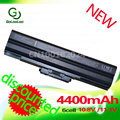 Golooloo 4400 mah preto bateria para sony bps13/b vgp bps13/q vgp-bps13b/b vgp-bps13/b vgp-bps13a/b