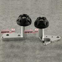 Motorcycle Frame Engine Cover Sliders Crash Pads Protector For Honda CBR 600RR F5 2007 2010 Black