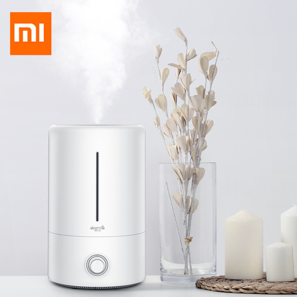 Original Xiaomi Home Deerma Air Humidifier 5L Large Capacity Household Mute Ultrasonic Air Humidifier Purifying Humidifier
