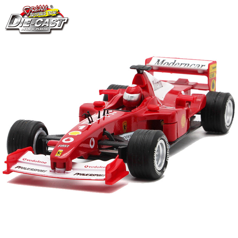 Hot sales Collectible 17cm length diecast Formula 1 model cars, kids toys with pull back function/sound/light as souvenir/gift