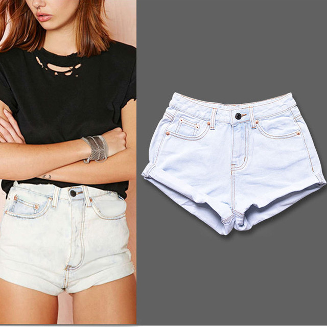 Aliexpress.com : Buy Women Sexy Denim Shorts Ladies'Casual High ...