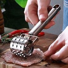Нержавеющая сталь мясной тендерайзер стейк свинина отбивная быстро свободная игла стейк свинина отбивная нежное мясо молоток кухонный помощник инструменты& s