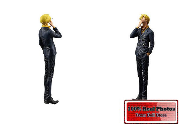 One Piece Sanji Action Figure 25cm PVC Collectible Model Toys