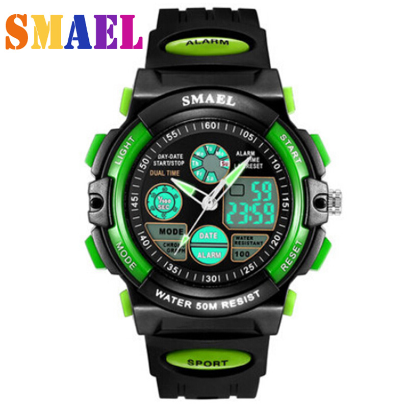 Fashion Brand Children Sport Watches LED Digital Quartz Watch Boy Girl Student Multifunctional Waterproof Wristwatches For