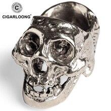 2019 New arrival free ship unique skull cigar ashtray Skull Cigarettes ash tray holder CL-107 free ship new beater