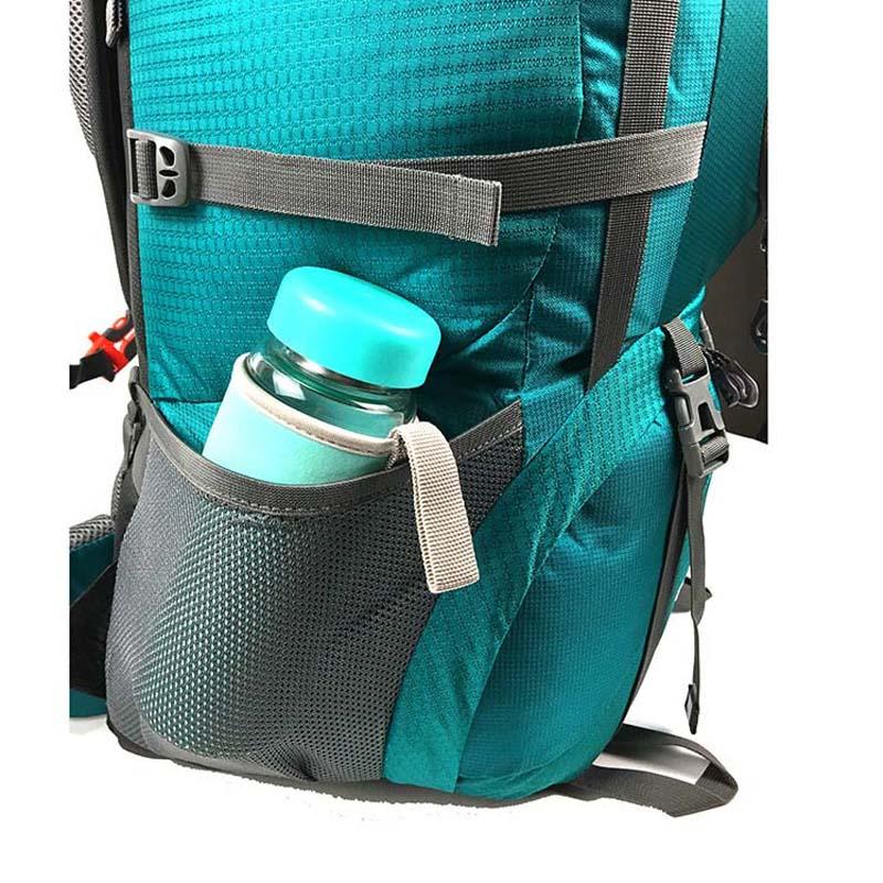 Mochila 80L para escalar al aire libre mochila táctica camping senderismo mochilas bolsa de nailon Marco de aleación de aluminio mochila de viaje - 5
