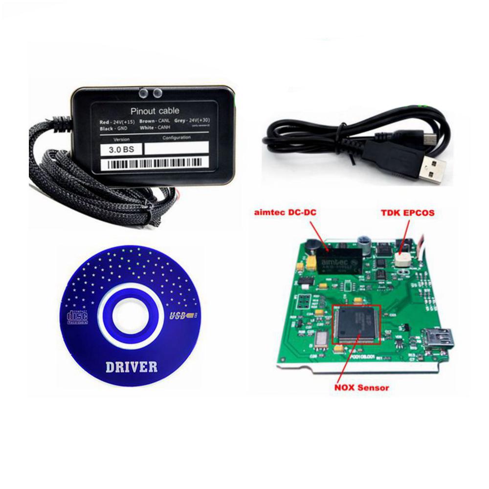 Prix pour Adblue 8 en 1 Adblue Émulation 8in1 Avec Capteur NOx Adblue émulateur 8 en 1 Adblue 8in1 Pour 8 Type Camions Livraison gratuite