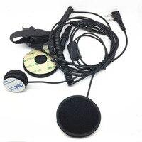 Walkie talkie helmet headphones for baofeng UV5R UV82 UV6R UV8 for kenwood TK3107 TK3207 two way radios