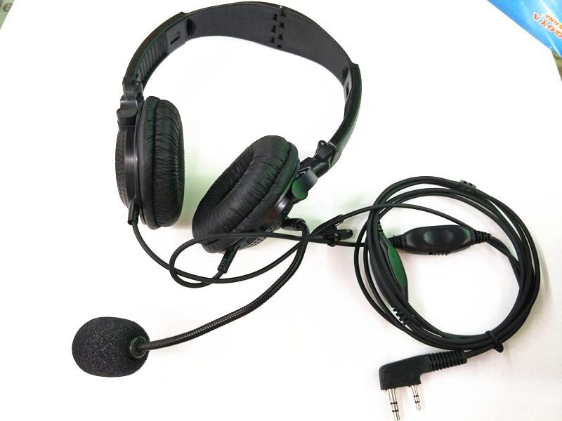 bilder für Oppxun 2 pin retevis r-114 vox headset ohrhörer für kenwood baofeng uv-5r retevis h777 tyt/wouxun kg-uv8d puxing zwei 2-wege-radio