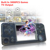 3000 Games Retro Handheld Game Console 60Hz Portable Consoles 3 Mini Video Gaming Player 360 Degree Controller PK RS 97 Plus
