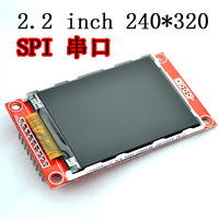 Умная электроника 2,2 дюймов 240*320 точек SPI TFT ЖК-дисплей последовательный Порты и разъёмы модуль Дисплей ILI9341 5 В/3,3 В 2,2 ''240x320 для Arduino Diy