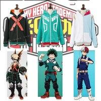 My Hero Academia Boku No Hero Academia Cosplay Costumes Sweatshirt Hoodie Jackets Coat Midoriya Izuku Bakugou