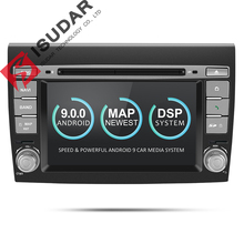 Isudar 2 Din Android 9 Car Multimedia player For Fiat Bravo 2007 2008 2009 2010 2011