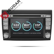 Isudar 2 Din Android 9 Car Multimedia player Per Fiat/Bravo 2007 2008 2009 2010 2011 2012 DVD Automotivo radio GPS 2 GB di RAM DSP