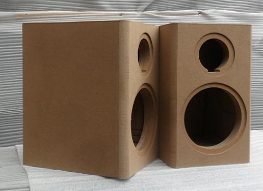 Speaker Empty Wooden Box Blank Custom Diy Floor Bookshelf Stereo