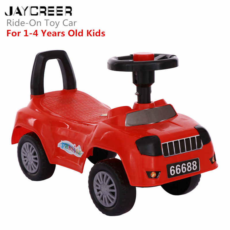 JayCreer 56X28X39 Whisper Ride On Push Car