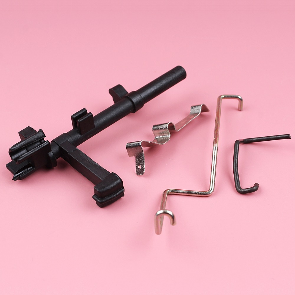 Throttle Rod Choke Rod Lever Switch Shaft Contact Spring Kit For Stihl MS180 MS170 018 017 MS 180 170 Chainsaw Parts
