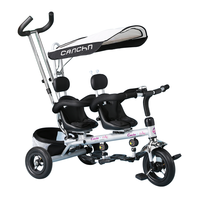 2017 new twins tricycle double children