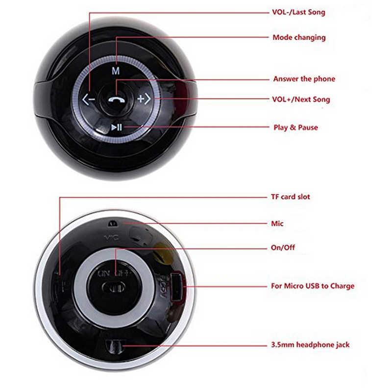 Przenośny głośnik bezprzewodowy bluetooth wsparcie Radio FM AUX karty TF do smartfony Xiaomi MP4 Mp3 Player komputer nimi głośniki